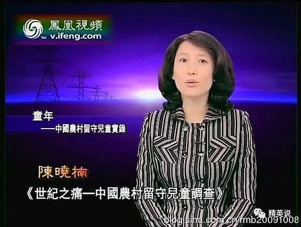 《凤凰大视野》节目中对阮梅的调查进行了报道